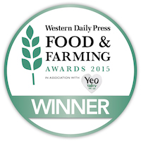 Western Daily Press Food and Farming Awards Winner 2015